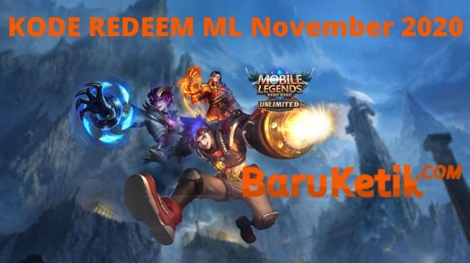 Kode Redeem Mobile Legends 21 November 2020 ML Work